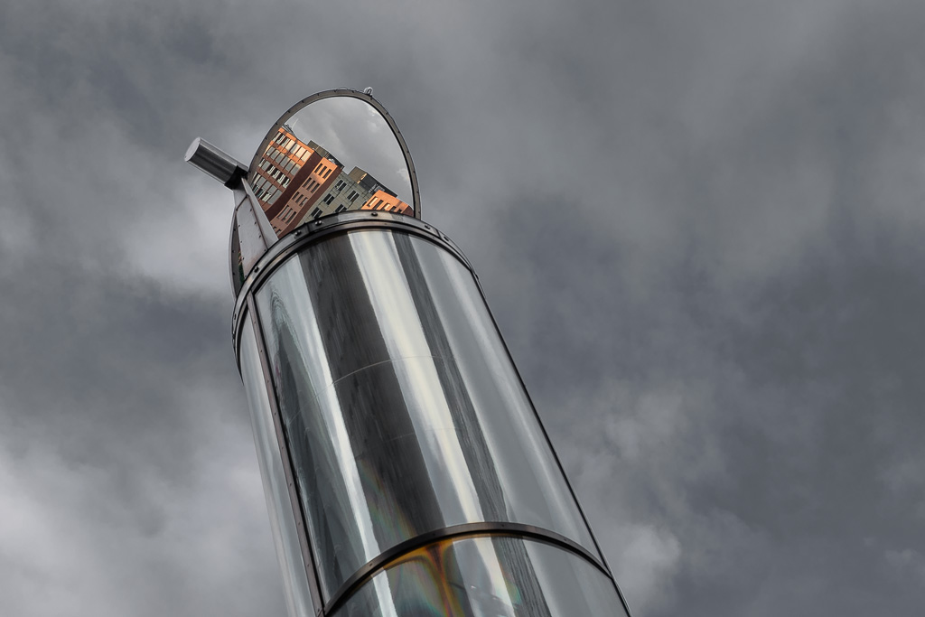 Potsdamer Platz-Beleuchtung + ziegelrot