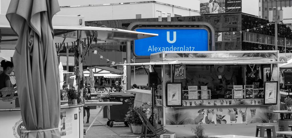 Alex + blau